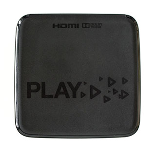 WD TV Play top