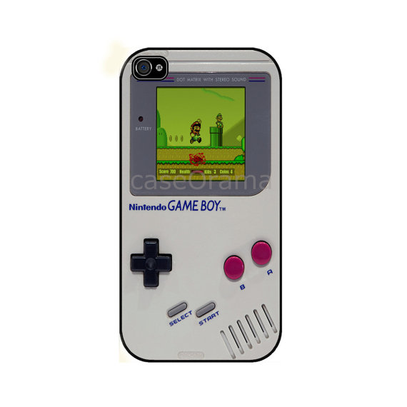 gameboy case for iPhone Etsy caseOrama