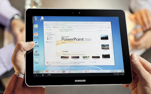 powerpoint on samsung galaxy tab