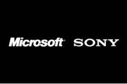 Microsoft and Sony Logos