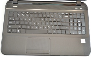 HP Pavilion Sleekbook keyboard