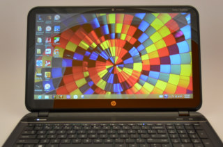 HP Pavilion Sleekbook display