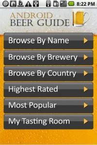 Android Beer Guide  by MaxDroid Screenshot