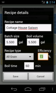 BrewR Beer Recipe Manager, by Weekend Coders