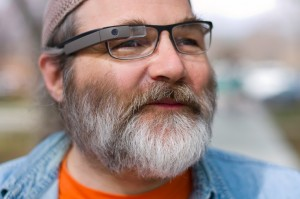 Google Glass compatible with prescription eyewear