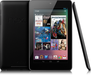 Google Nexus 7 display