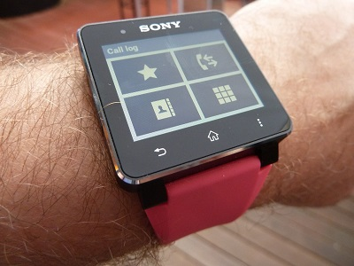 Sony SmartWatch 2 ui