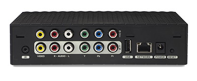 SLINGBOX 350 back