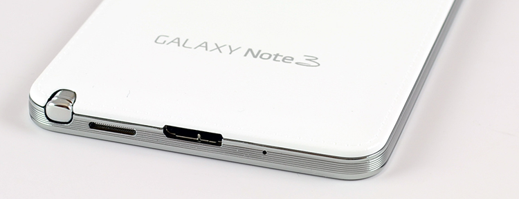 Samsung Galaxy Note 3 bottom