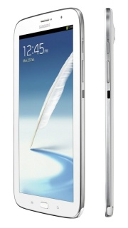 Samsung Galaxy Note 8.0 Side View