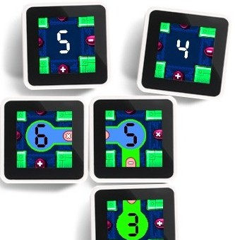 Sifteo Cubes Intelligent Game Play Code Breakers