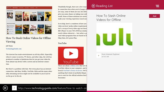 Windows 8.1 Reading List