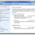 Windows Power Plan