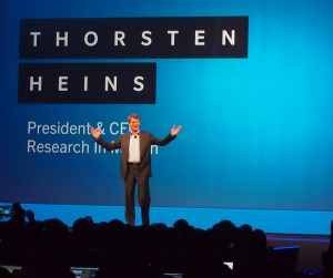 BlackBerry CEO Thornsten Heins