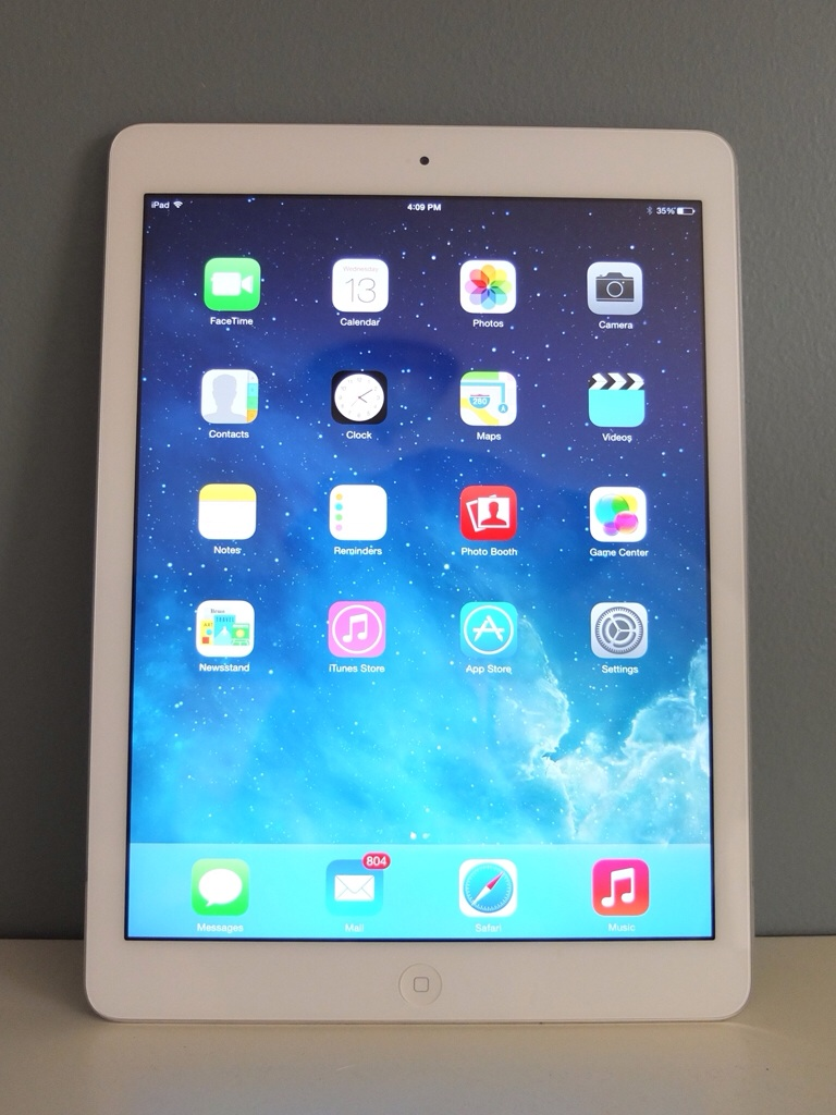 apple ipad air review. Black Bedroom Furniture Sets. Home Design Ideas