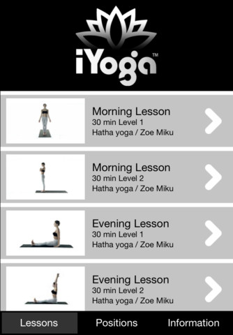 iYoga%2B App for iOS 5 Best Yoga Apps for iPhone and iPad