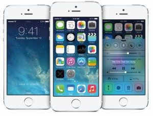 ios 7 iphone 5S 3